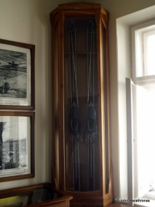 The skis of Pope John Paul II