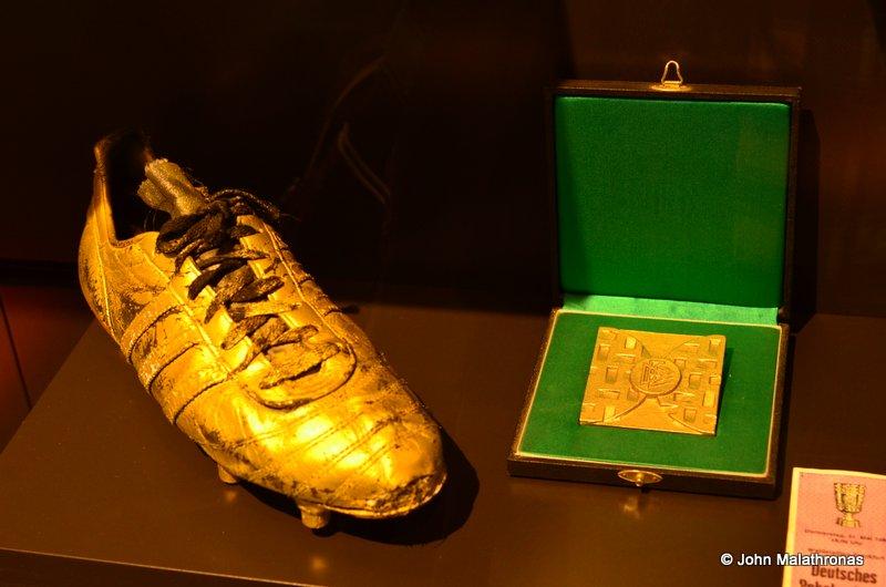 Rumenigge's golden boot