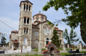 Church of Agioi Anargyroi Veroia Greece