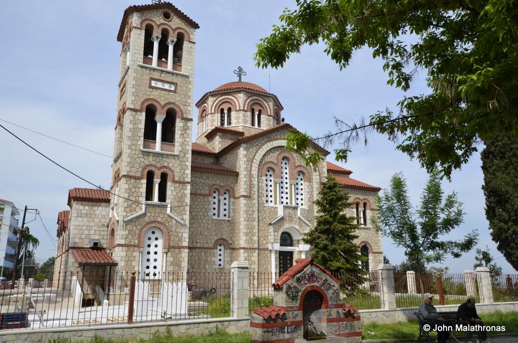 Church of Agioi Anargyroi Veroia Greece