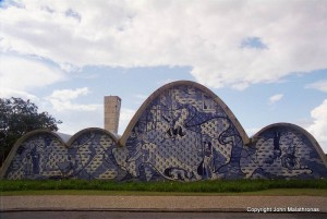 Niemeyer's modernist church of São Francisco in Pampulha