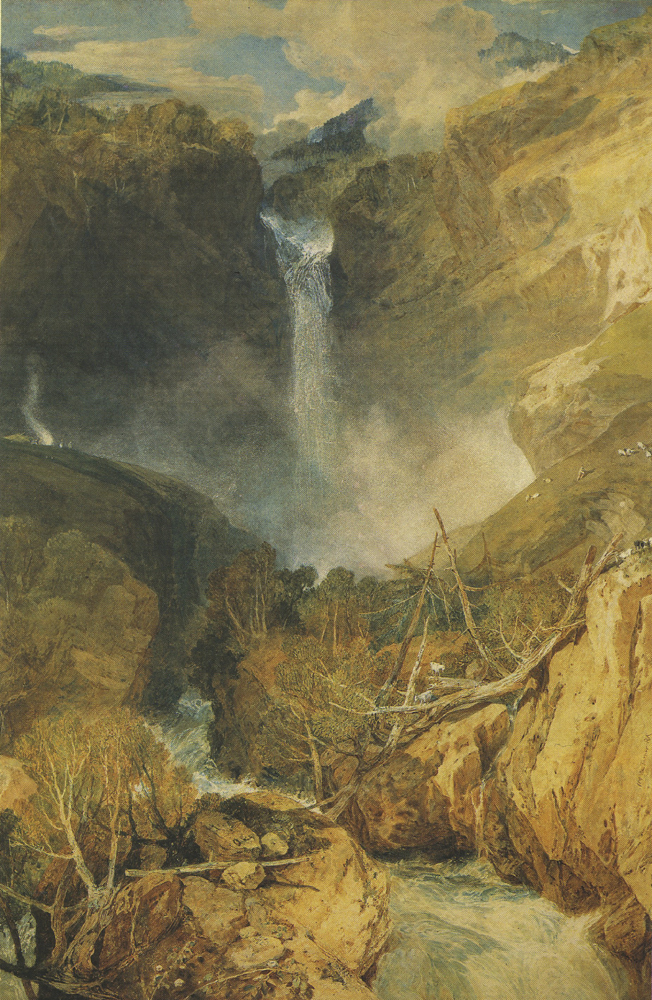 """J. M. W. Turner's """"The Falls of the Reichenbach"""""""